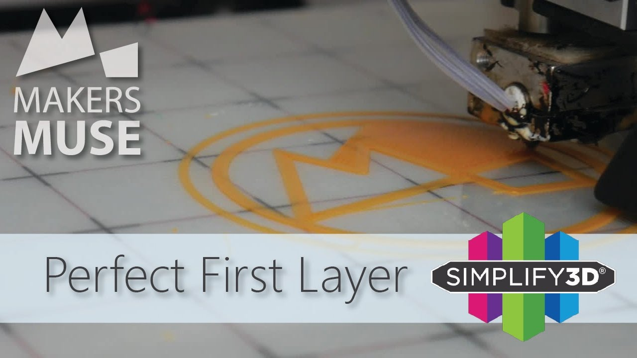 How To Get The Perfect First Layer 3dp101 Youtube
