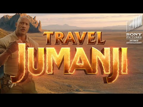 JUMANJI: THE NEXT LEVEL - Travel Jumanji Advertisement. On Digital March 3rd!