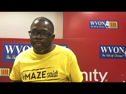Watch The WVON Morning Show...Damon Williams!