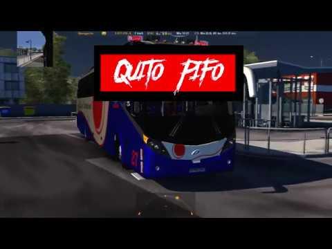 Mapa Ecuador Mod Bus Ruta: Quito - Pifo [Majesctic JGB] | Coop. Loja Internacional