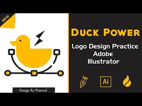 illustrator Tutorial : How to make  Logo design adobe illustrator cc tutorial 2019   Making creative thumbnail