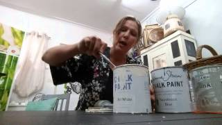 The basics of using Chalk Paint by Annie Sloan