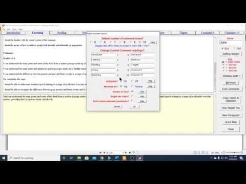7. TRA Edit Comments Part 2