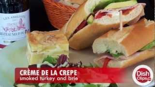 Crème de la Crepe - Smoked Turkey and Brie