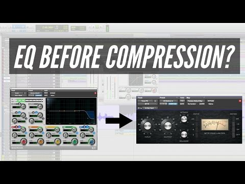 EQ Or Compression First When Mixing? - TheRecordingRevolution.com