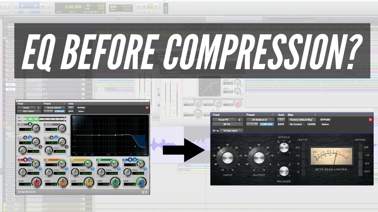 EQ Or Compression First When Mixing? - TheRecordingRevolution com