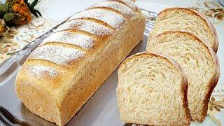 Pão Caseiro com Farinha Integral Fofinho e Muito Fácil de Fazer