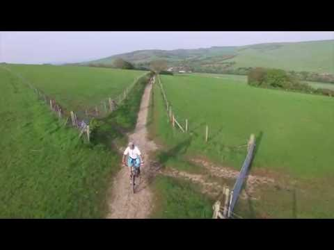 Friston MTB - Drone footage mountain biking in Friston Forest East Sussex
