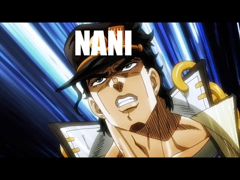 Every Single 『NANI』 In Stardust Crusaders