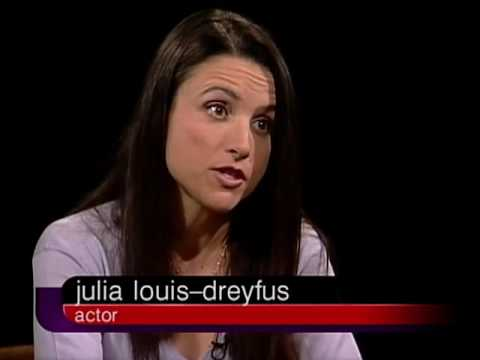 Julia LouisDreyfus Job İnterview On Charlie Rose 2002 & Roberts 2000