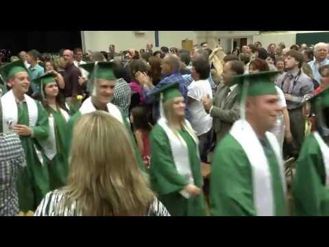 Fort Kent Community High School Class of 2013 Graduation Exit - June 7, 2013