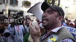 Mexico: Honduran migrants demand buses to ease journey to US border