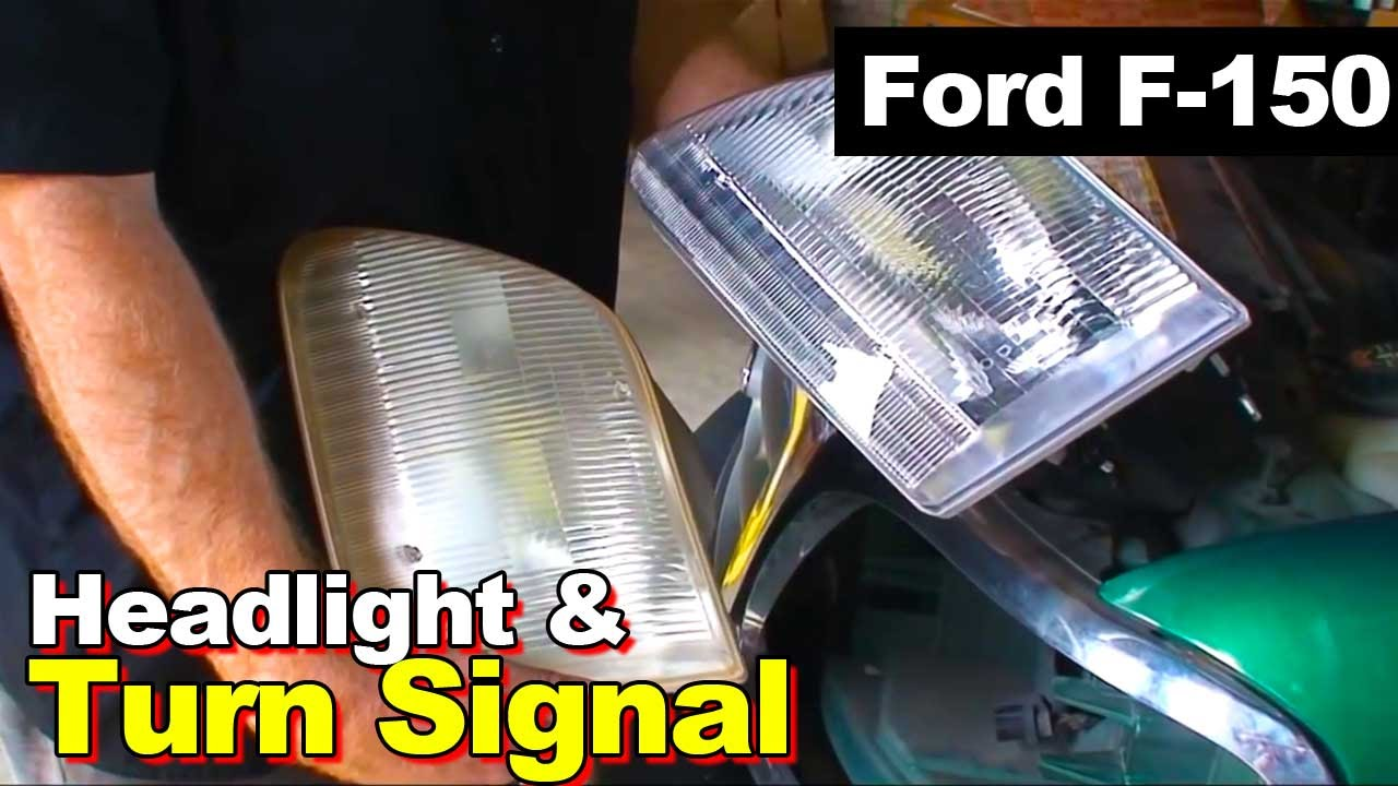 1999 Ford F 150 Headlight And Turn Signal Youtube 99 F150 Wiring Diagram