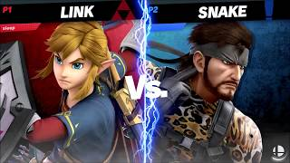 Mustache Mayhem Ultimate 2 Winners Round 1: JS | Sleepbringer (Link) vs Secret (Shulk/Snake)