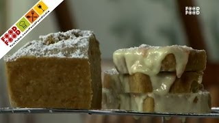 Carrot Cake & Cream Cheese Sandwich - Hi Tea