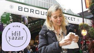 Londra Sokak Lezzetleri (Borough Market) VLOG Yemek Videolari