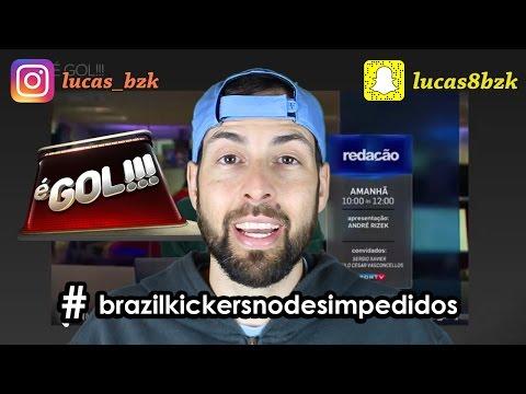 "Brazil Kickers no ""É GOL"" do SPORTV + Campanha #brazilkickersnodesimpedidos"