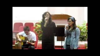 The Old Rugged Cross (On a Hill Faraway) duet - Harmonized