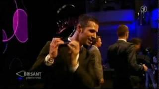 German Soap Award 2011 Jo Thore win 39 Most Beautiful Lovers 39 Jo Weil wins 39 Fan prize male 39