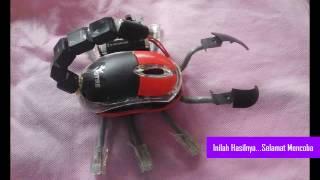 Video Cara Membuat Robot Kalajengking Dari Mouse Bekas download MP3, 3GP, MP4, WEBM, AVI, FLV Oktober 2018