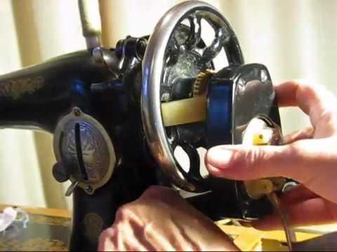 Швейная машинка с ручным приводом
