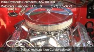 1964 Plymouth Belvedere  for sale in Headquarters in Plano,