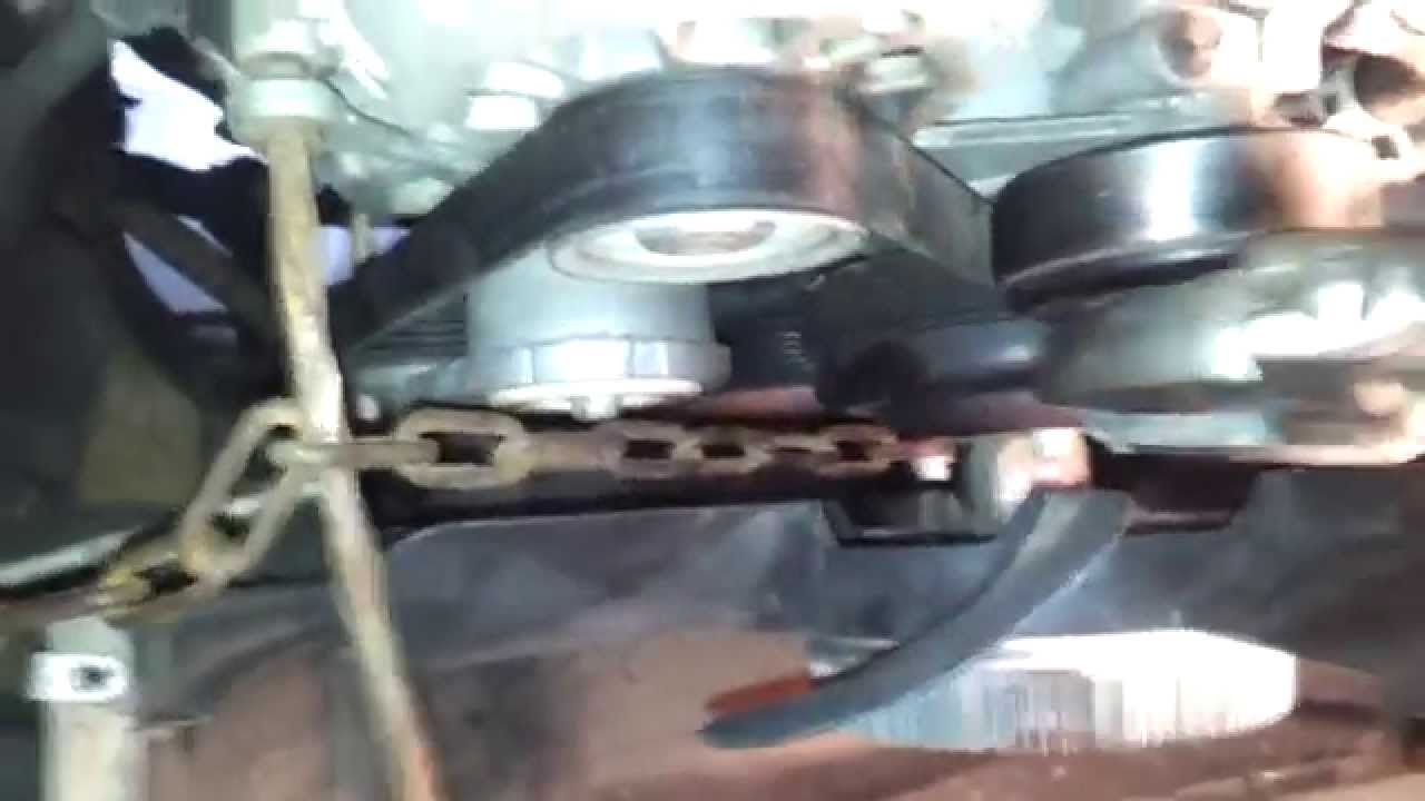 1998 Gmc Water Pump Removal With Clutch Fan Youtube