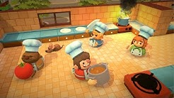 5 Minutes of Overcooked Gameplay - E3 2016