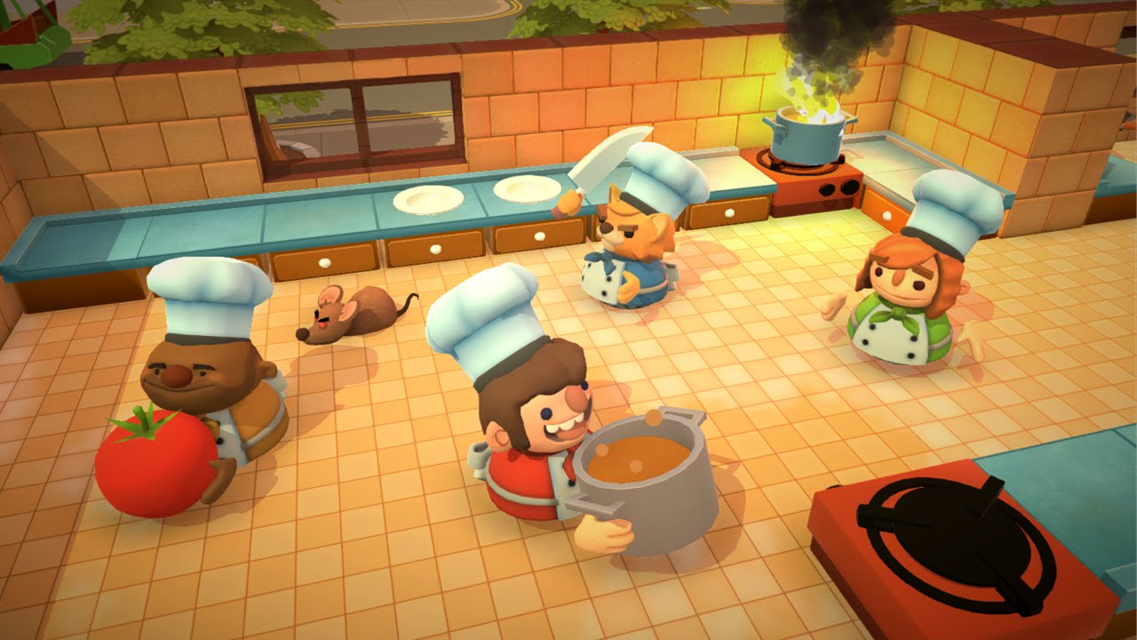 5 Minutes of Overcooked Gameplay - E3 2016 - YouTube