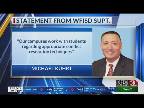 WFISD response to alleged bullying at Barwise Middle School