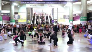 flashmob at kl sentral by rjvn friends