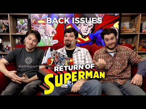 RETURN OF SUPERMAN from DC Comics | Back Issues