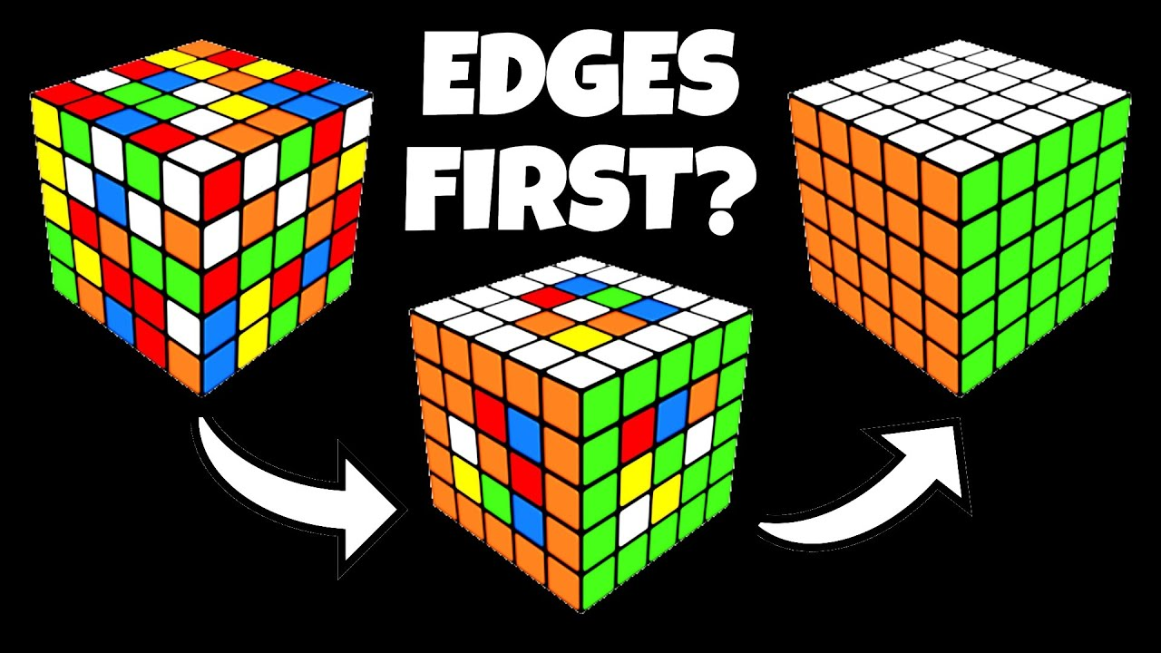 CAN YOU SOLVE A 5X5 DOING THE EDGES FIRST?!