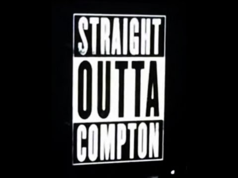 @thegrammys Official Straight Outta Compton Movie trailer @drdre #nwa #grammys