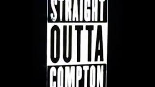 Straight Outta Compton NWA Movie trailer #eazye @icecube