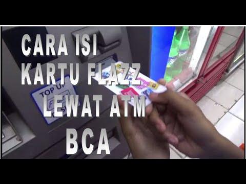 CARA MENGISI KARTU FLAZZ LEWAT ATM BCA
