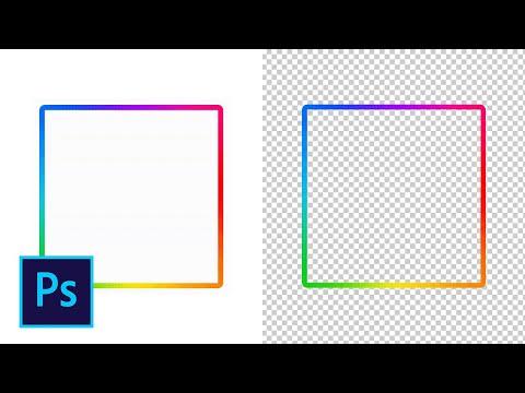 Как удалить белый фон с gif анимации в фотошопе