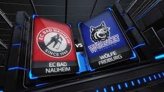 DEL2 Highlights 17. Spieltag | EC Bad Nauheim vs. EHC Freiburg