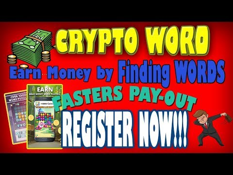 CRYPTO WORD GAME Instant Withdrawal - 동영상
