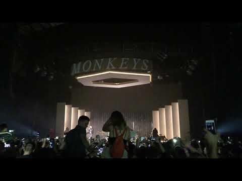 Arctic Monkeys - Mardy Bum (Drum Loop) @ Metro Radio Arena Newcastle - Friday 28th September 2018
