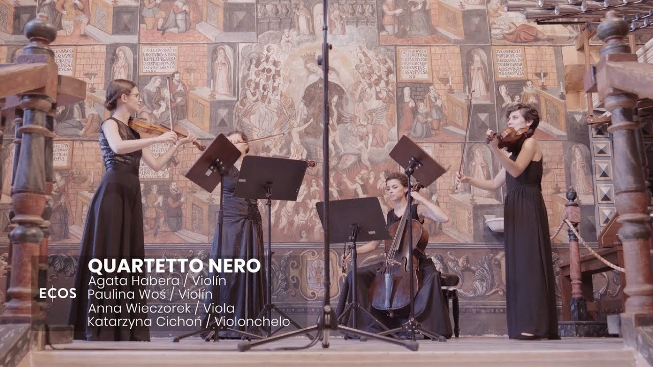 Haydn - String quartet op. 20 no. 4: IV. Presto e scherzando | QUARTETTO NERO at ECOS Festival