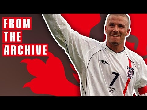 David Beckham v Greece 2001 | From The Archive