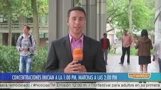 Así será el recorrido de la Marcha Nacional por la Educación en Medellín [Noticias] - Telemedellín