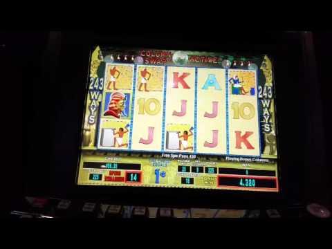 **Rare Slot Machine**  PHARAOH'S GOLD.  SLOT Bonus