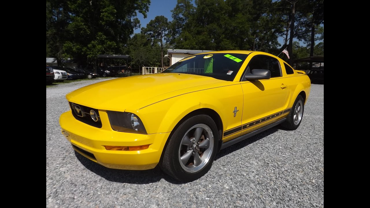2006 ford mustang pony package v6 for sale leisure used cars 850 265 9178