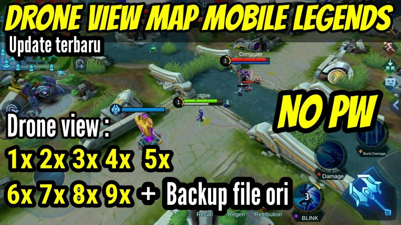 Drone View Mobile Legends - Update Terbaru All Map Patch Yu Zhong