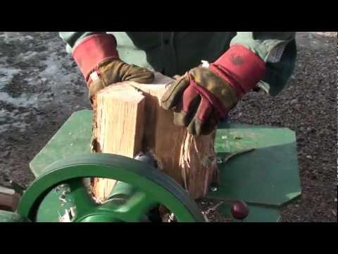 Lister log splitter Mk1