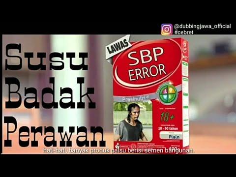 VIDEO LUCU DUBBING JAWA OFFICIAL TERBARU -IKLAN SUSU SGM(SBP)