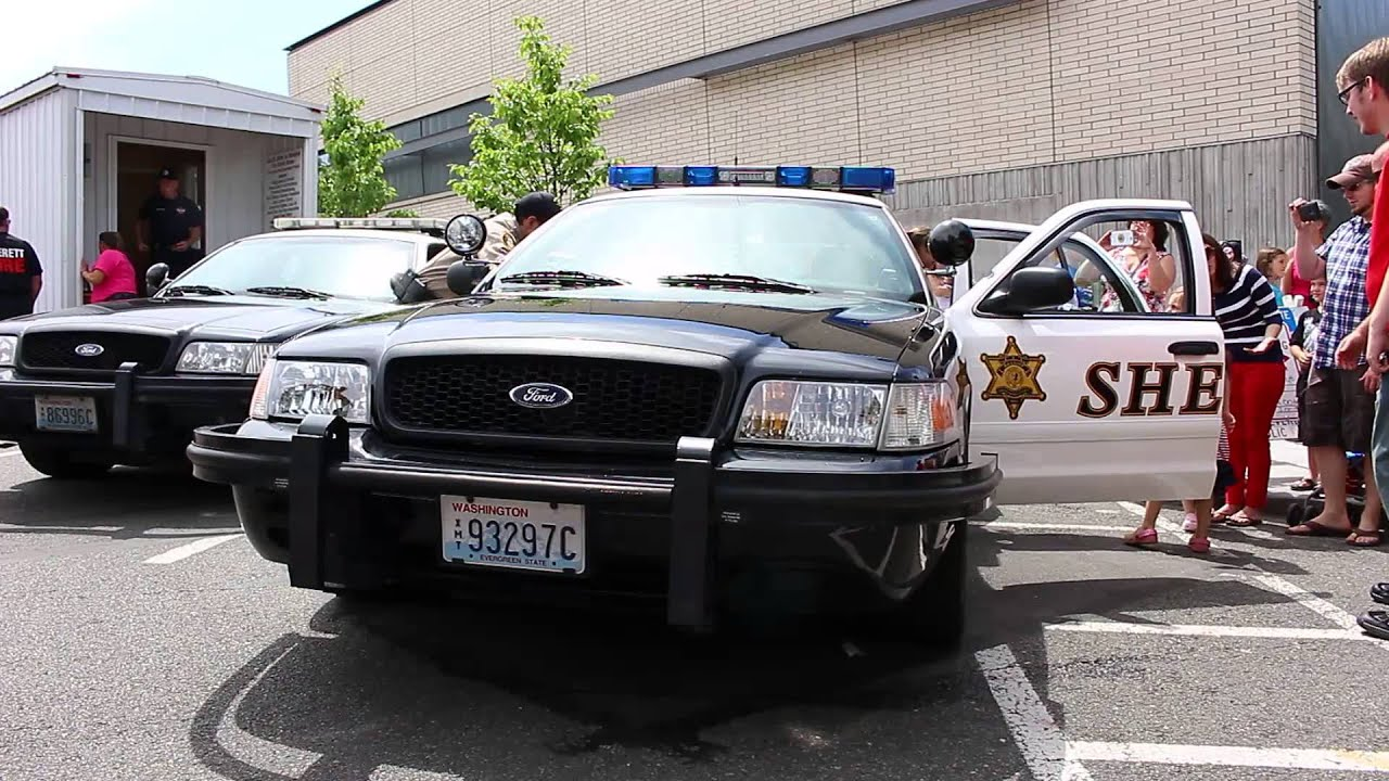 Snohomish county sheriff s office ford crown victoria police interceptor