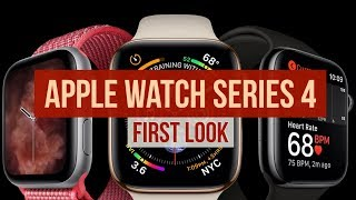 Apple Watch Series 4: First Look